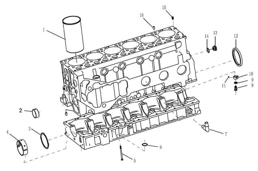 wd615 engine catalogue